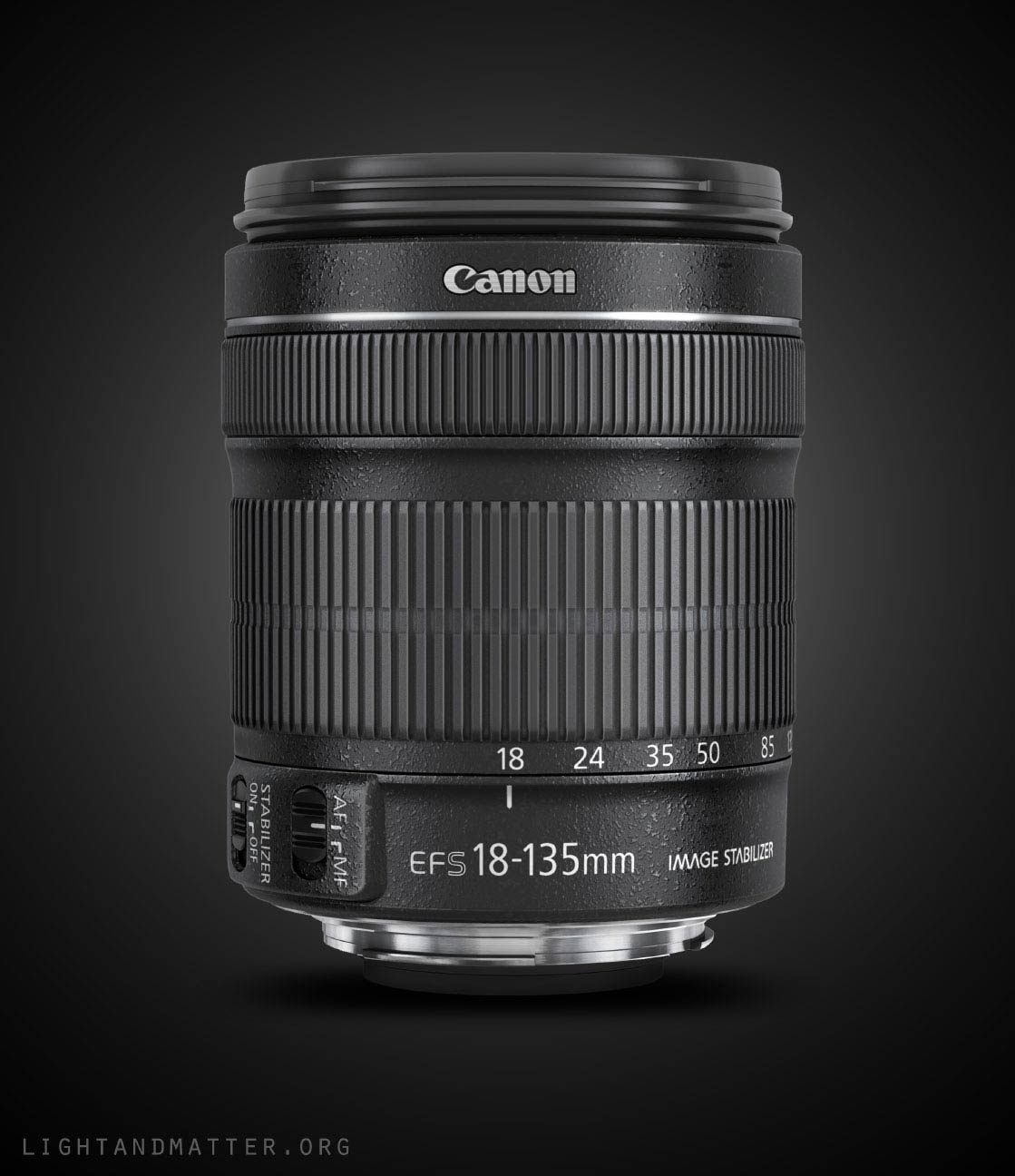 Canon 18-135 f/3.5-5.6 IS STM Lens