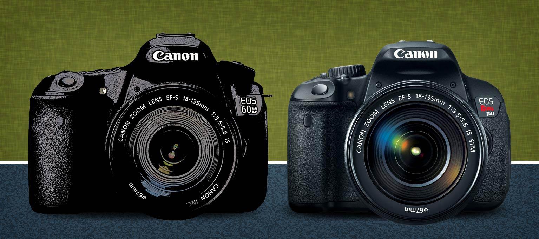 Canon t4i vs 60D Comparison