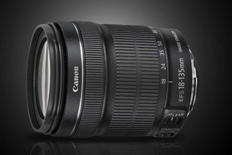 Canon ef 18-135 STM lens