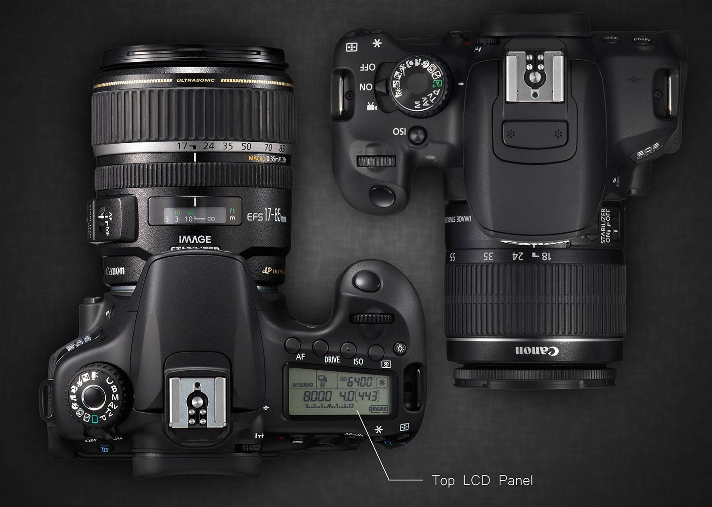 Canon T4i and 60D TOP LCD Panel