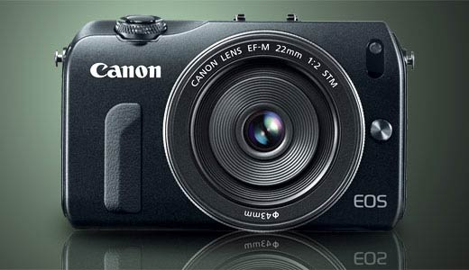 Canon EOS M Camera, Mirrorless