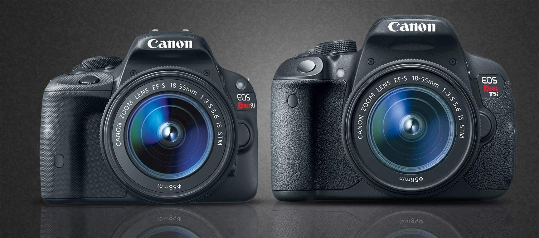 Canon T5i and SL1