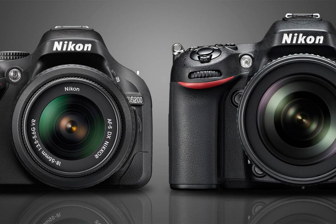 Nikon D5200 vs D7100