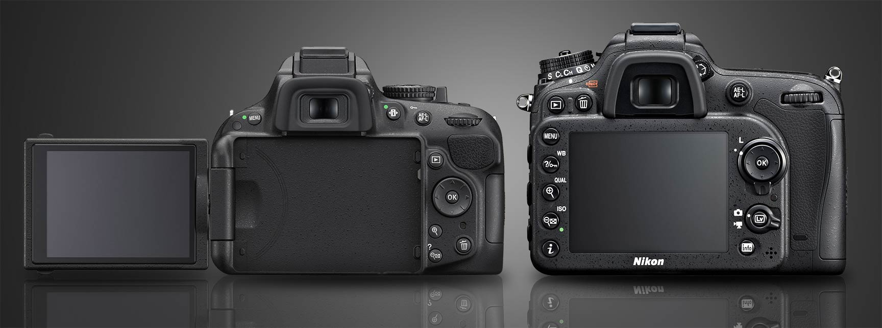 D7100 vs d5200 back & Nikon D5200 vs D7100 : Which Should You Buy? - Light And Matter