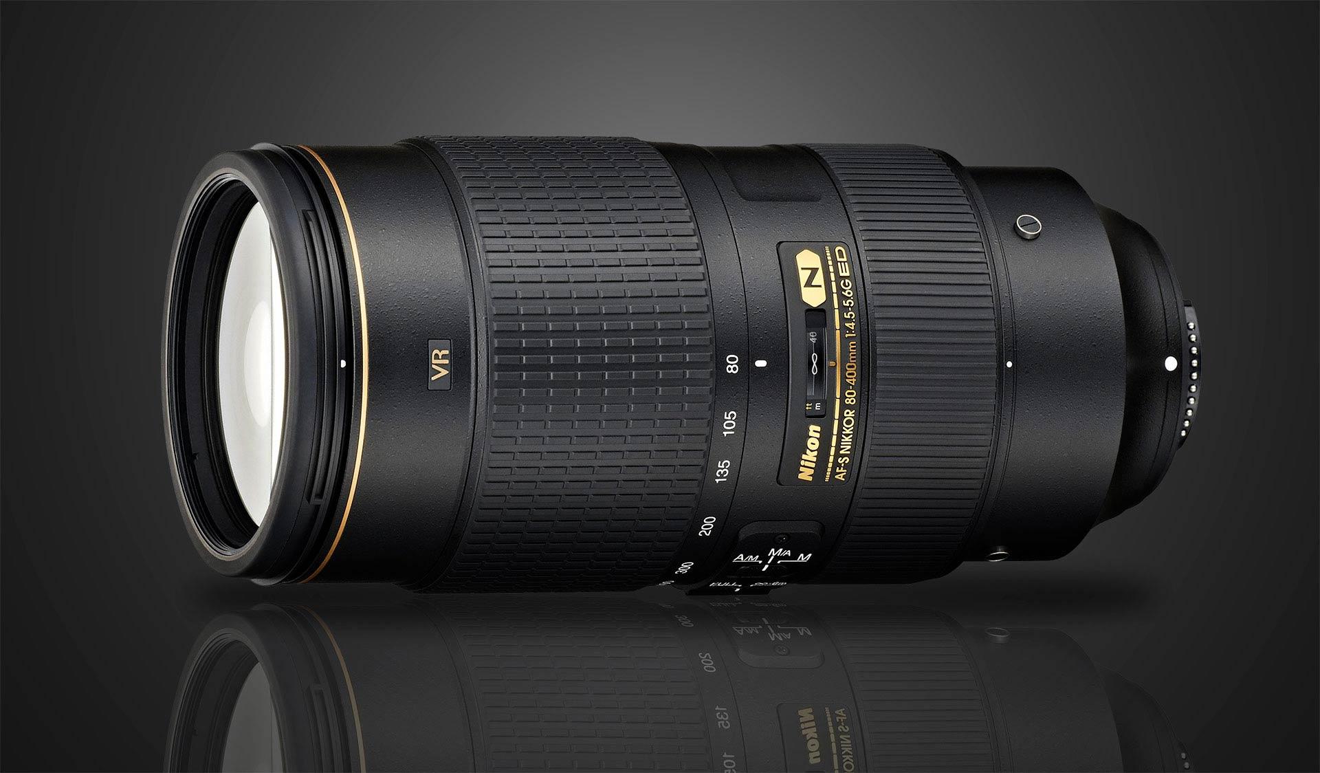 Nikon 80-400 f/4.5-5.6 VR Lens