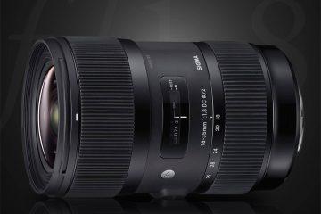 Sigma 18-35mm f/1.8 Lens