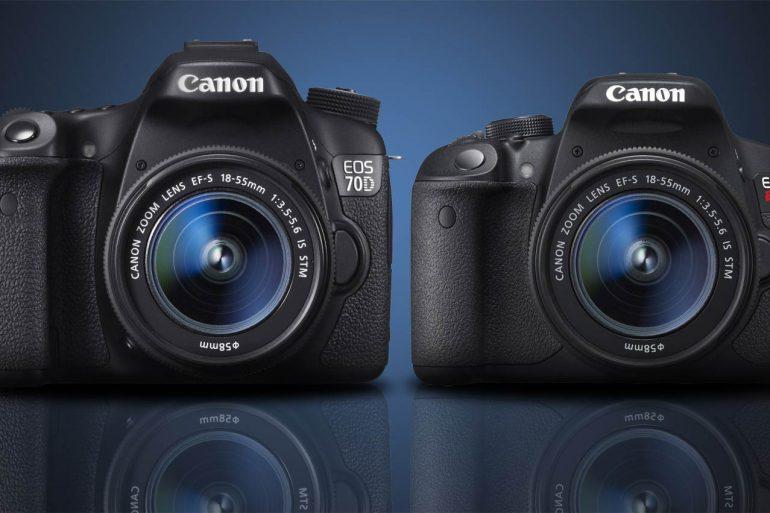 Canon 70D vs Canon t5i