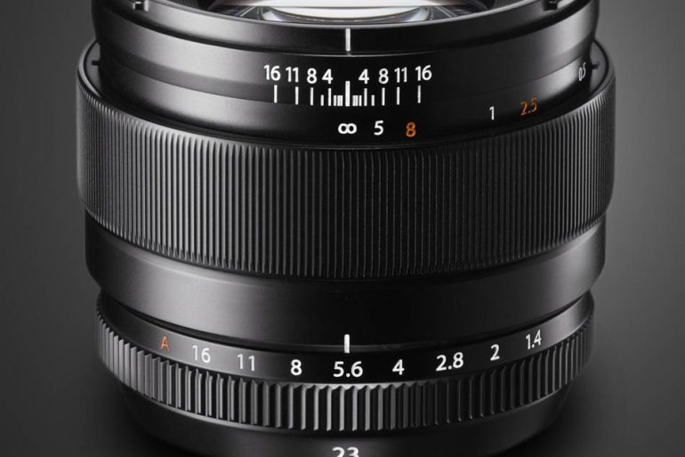 Fujifilm 23mm f/1.4 R