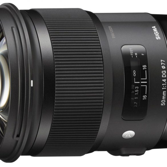 Sigma 50mm f/1.4 HSM Art Series Lens