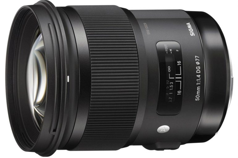 Sigma 50mm f/1.4 HSM Art Series Lens