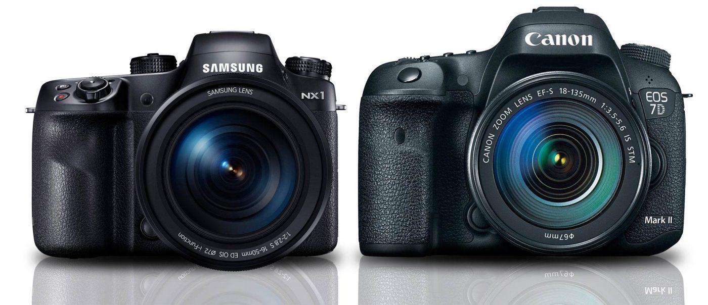 Samsun NX1 vs Canon 7D Mark II