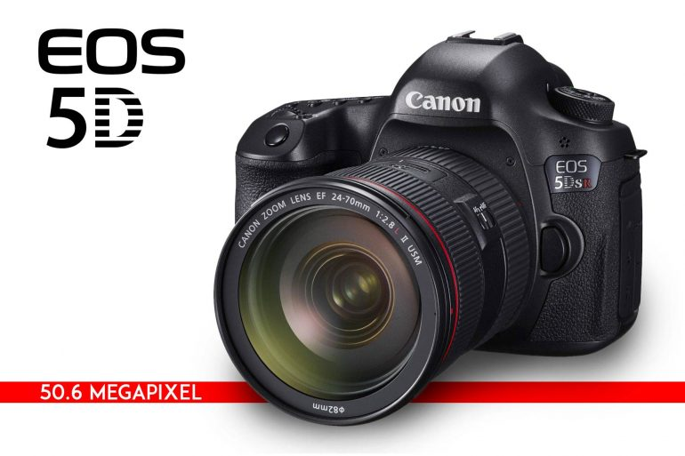 Canon Announces 5DS and 5DSR