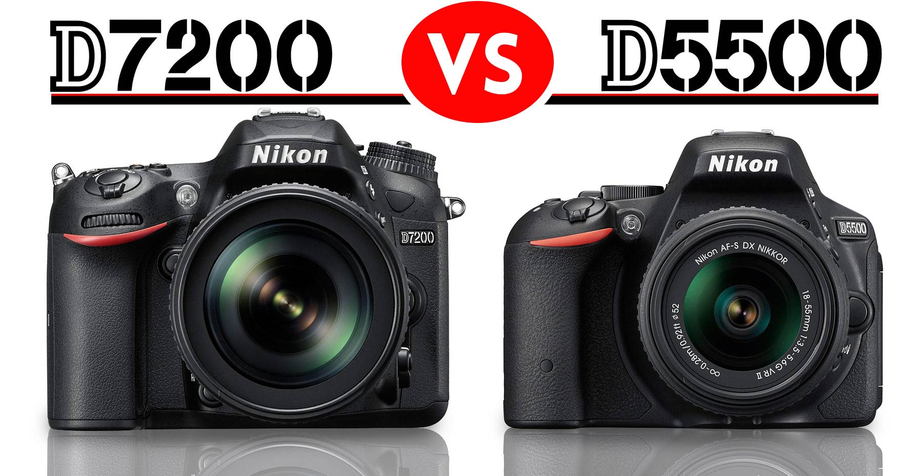 Nikon D5500 vs D7200: Which Should You Buy? – Light And Matter