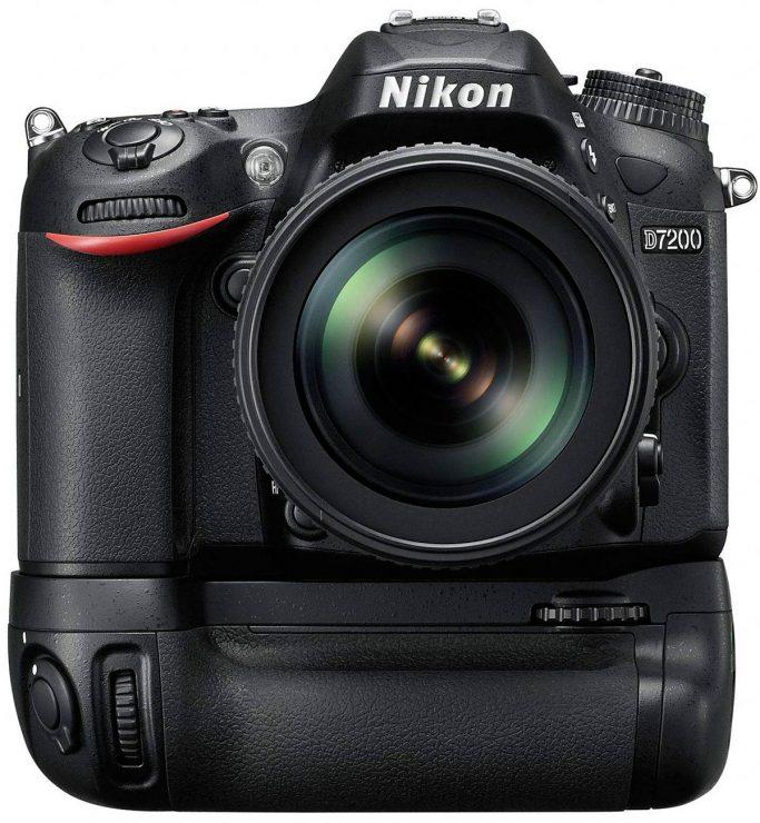 Nikon D7200 with grip