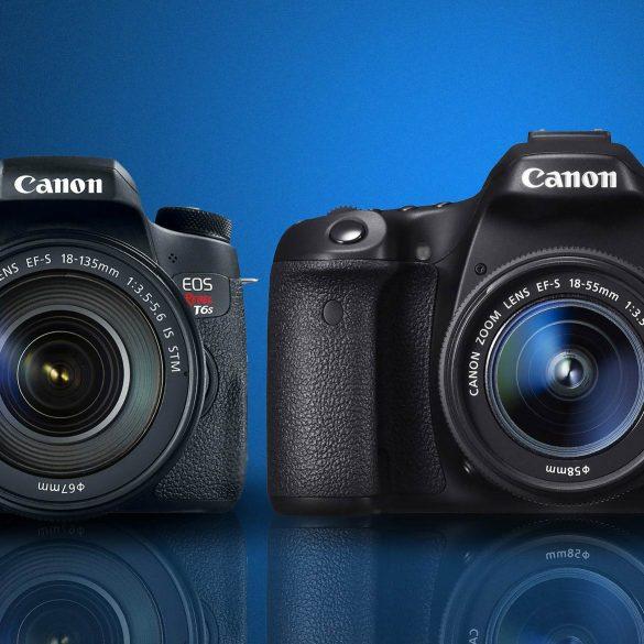 Canon T6s vs Canon 70D
