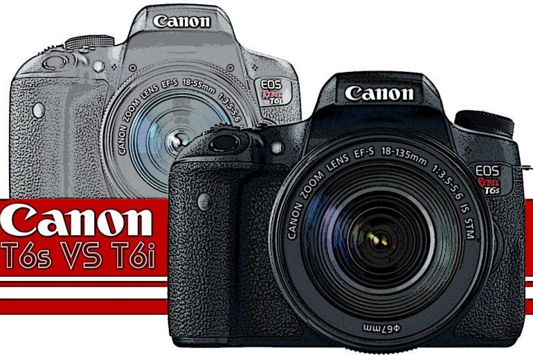 Canon T6i vs T6s Banner