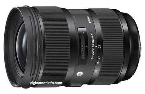 Sigma 24-35mm f/2 ART Series