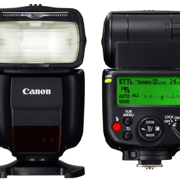 Canon Speedlite 430EX III-rt, all sides