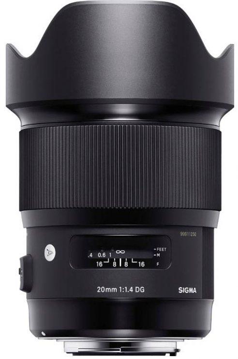 Sigma 20mm f/1.4 ART for Canon