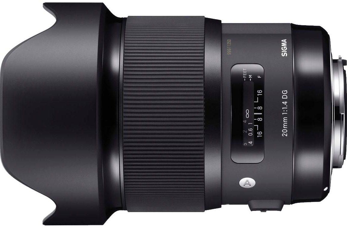 Sigma 20mm f/1.4 ART Series Lens