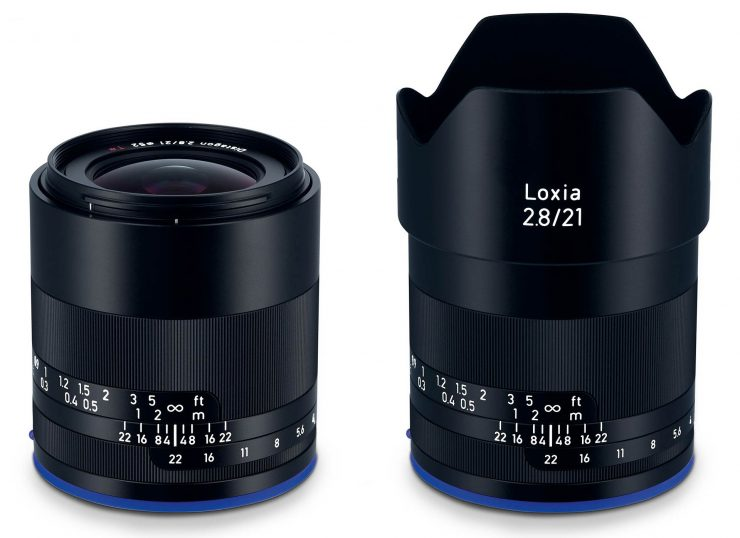 Zeiss Loxia 21mm f/2.8 with hood