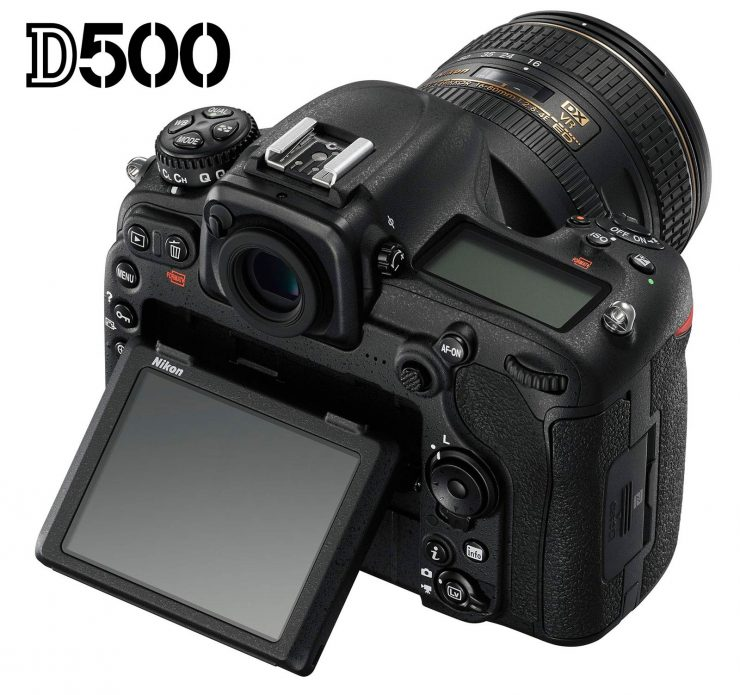Nikon D500 swivel screen