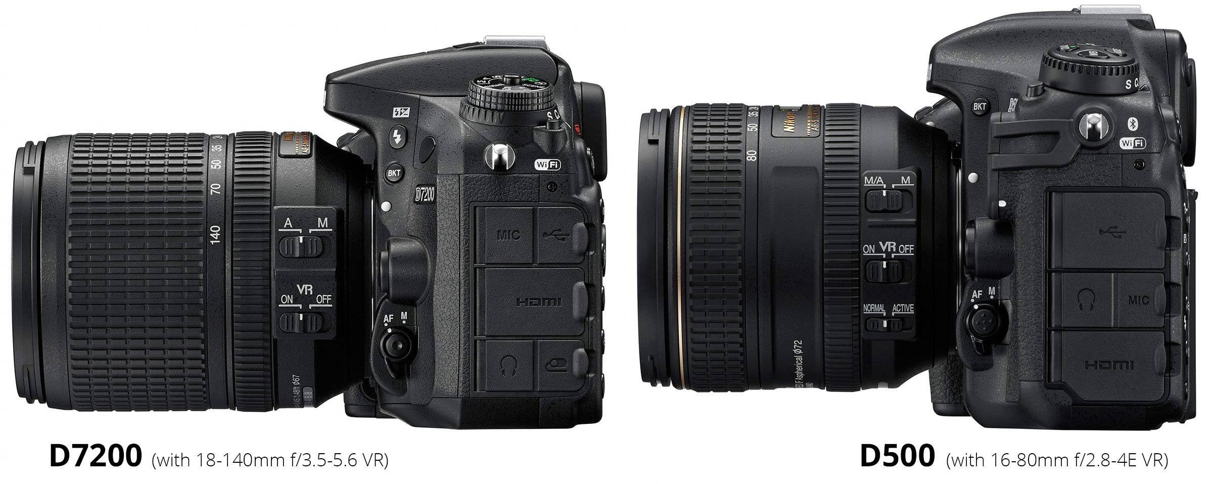 Nikon D7200 vs D500 : Which Should You Buy? – Light And Matter