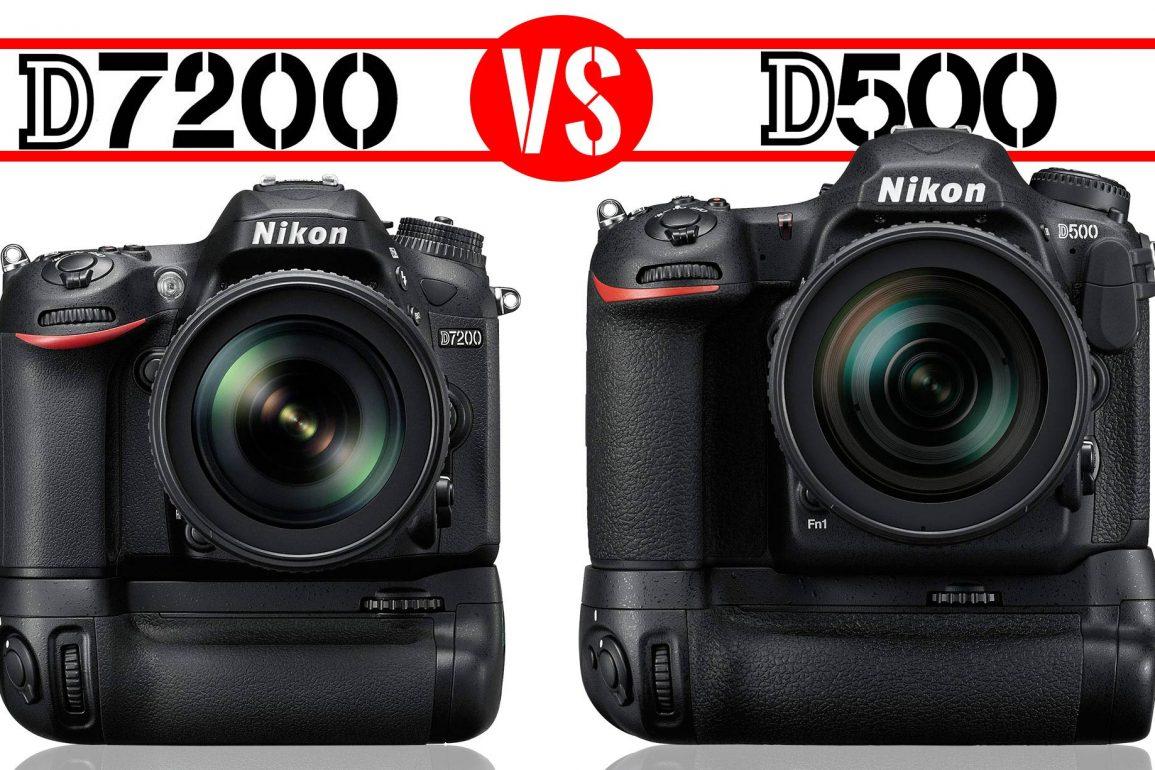 Nikon D7200 vs Nikon D500