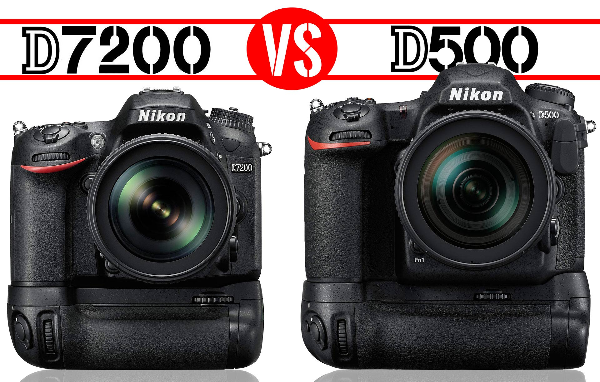 Nikon D7200 vs D500 : Which Should You Buy? - Light And Matter
