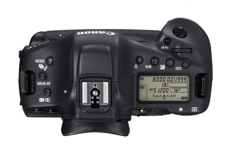 Canon 1DX Mark II Top