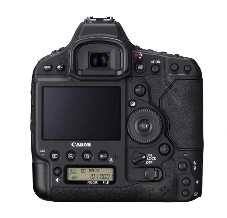 Canon 1DX Mark II Body Back