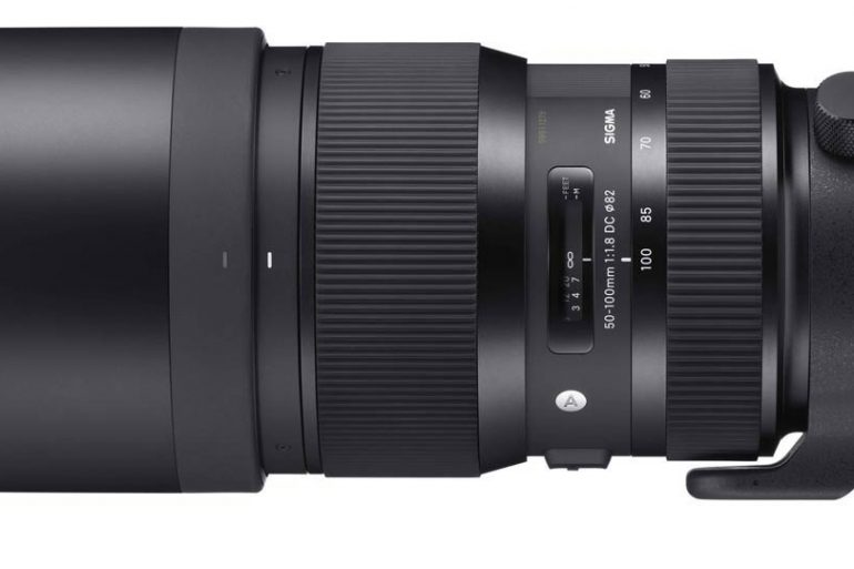 Sigma 50-100 f/1.8 ART Lens
