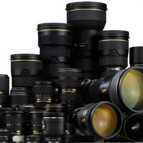 All Nikon Lenses, Group Shot
