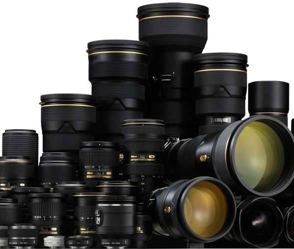 All Nikon Lenses, Group Shot