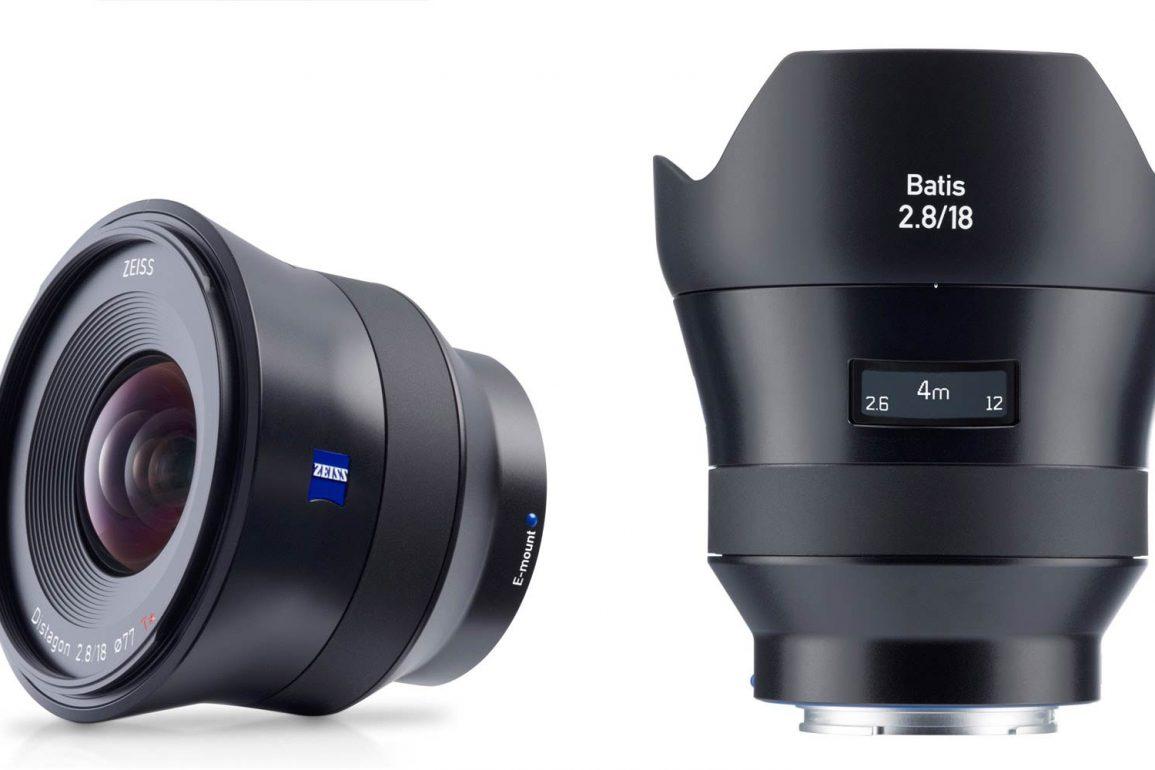 Zeiss Batis 18mm f/2.8 Lens