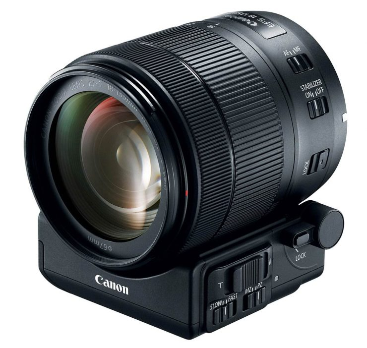 Canon 18-135mm USM Power Zoom