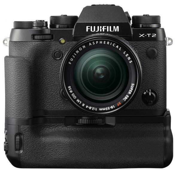 Fujifilm X-T2 with Power Booster Grip