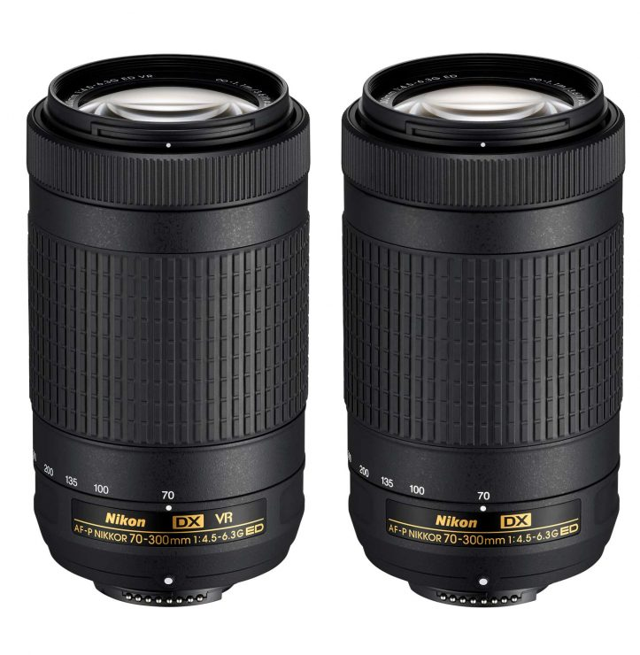Both 70-300mm lenses.