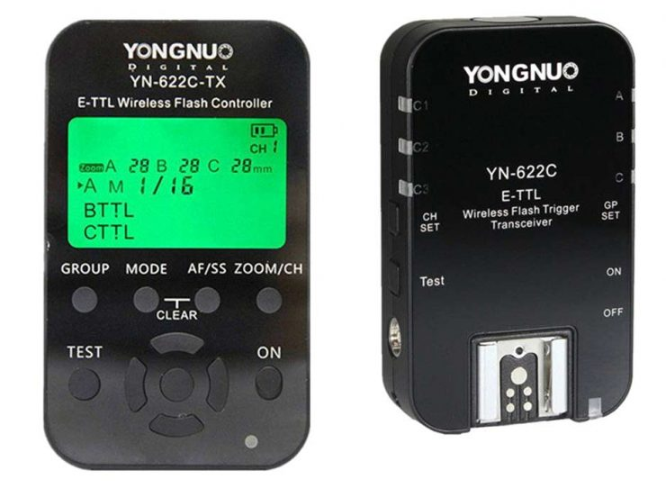 Yongnuo 622 Flash Triggers