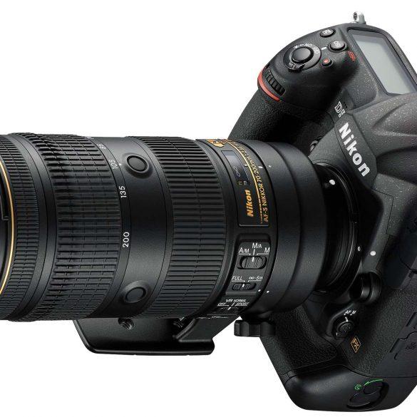 Nikon AF-S 70-200 f/2.8 FL on the D5 body