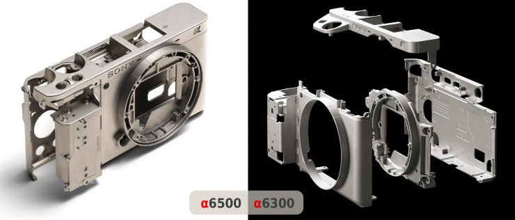 The magnesium alloy bodies of the a6500 and a6300