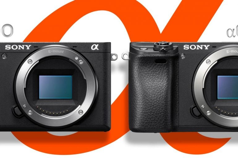 Sony a6500 vs a6300 banner