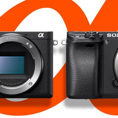 sony a6500 vs Sony a6300 banner