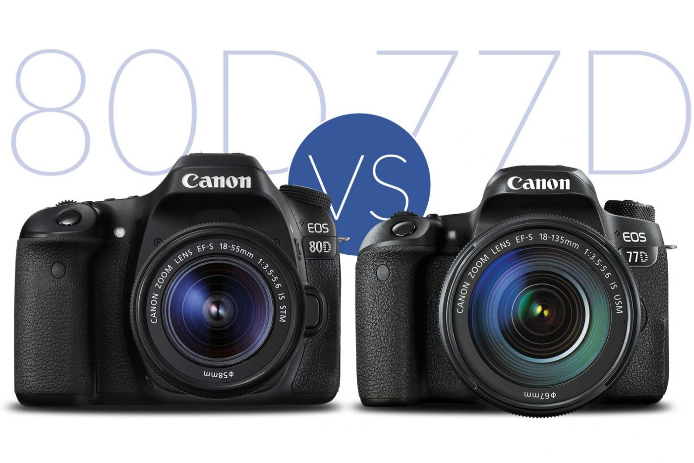Canon 77D vs 80D banner