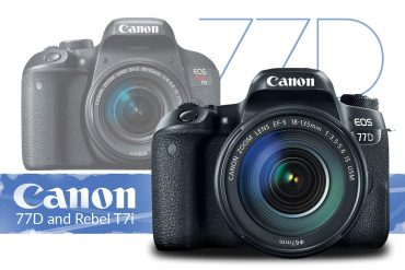 The new Canon M6 next to the M5