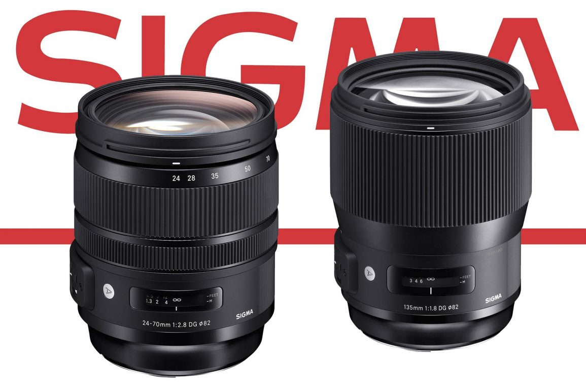 The New Sigma 24-70 f/2.8 OS ART and 135mm f/1.8 ART