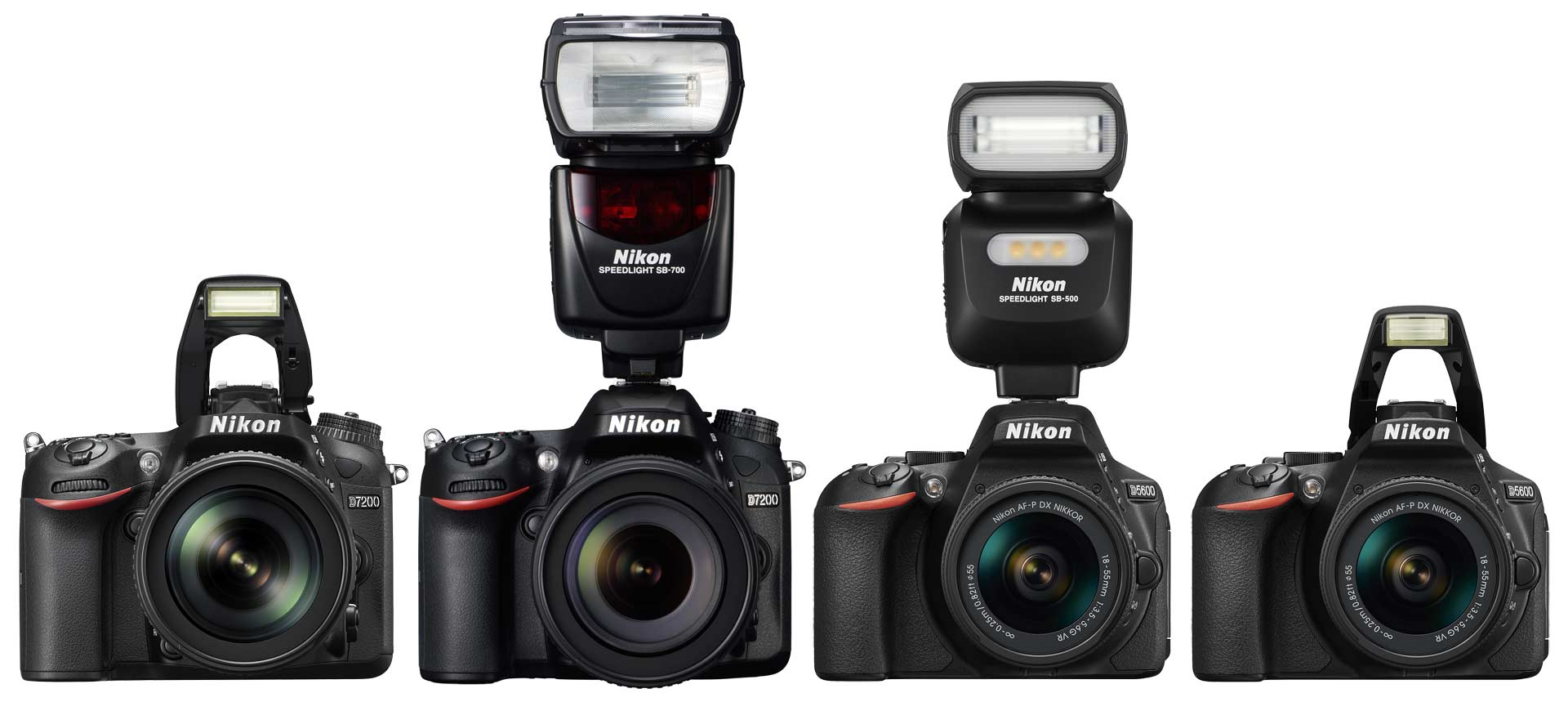 Nikon D5600 Vs D7200 Which Should You Buy Light And Matter Where To Get Parts Diagram For A D5000 Slr With Dx Vr Afs The Pop Up Flash Of Can Not Be Used As Wireless Controller Other Units But Use Radio Triggers Or Hot Shoe Mounted