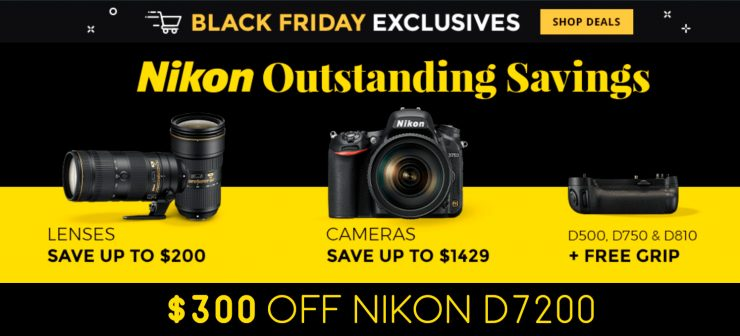 black friday at B&H