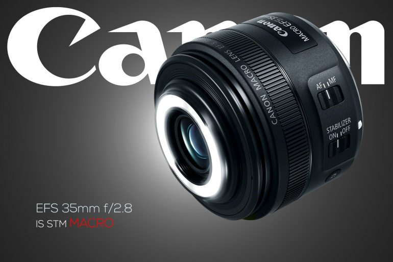 Canon 35mm f/2.8 IS STM Macro lens