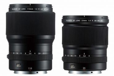 Fuji Announces Two Medium Format Lenses for GFX50s:  110mm f/2 & 23mm f/4